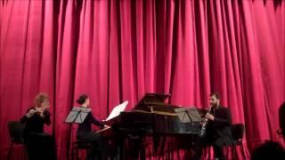 Vocalise Rachmaninoff- flute,clarinet and piano trio Ad libitum