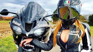 😍 Девушки в МотоСпорте 👏!