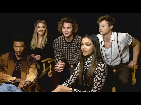 OUTER BANKS: Cast Talks Couple SHIPS and Crazy Stunts | Full Interview