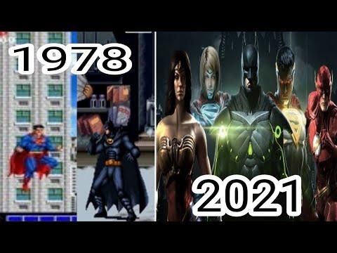 Evolution Of Superhero Games 1978-2021