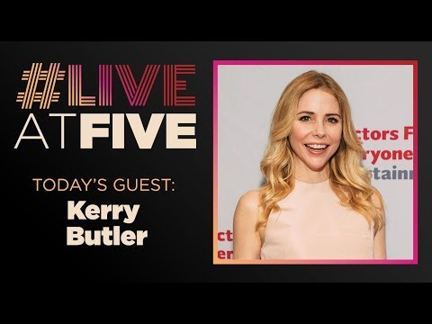 Broadway.com #LiveAtFive with Kerry Butler from MEAN GIRLS