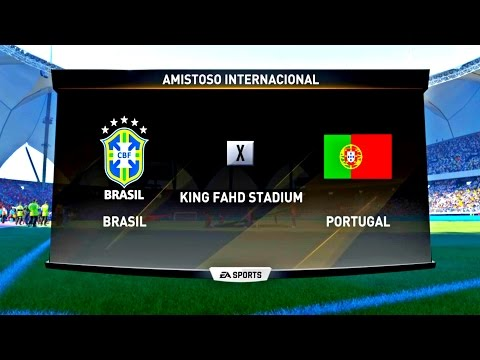 BRASIL X PORTUGAL ( 4K - ULTRA HD ) KING FAHD STADIUM - FIFA 17