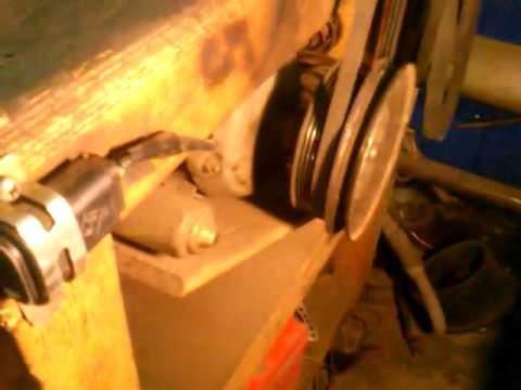 Cмотреть видео Стенд для проверки генераторов.