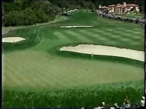 Tiger Woods' final round of 2000 US open