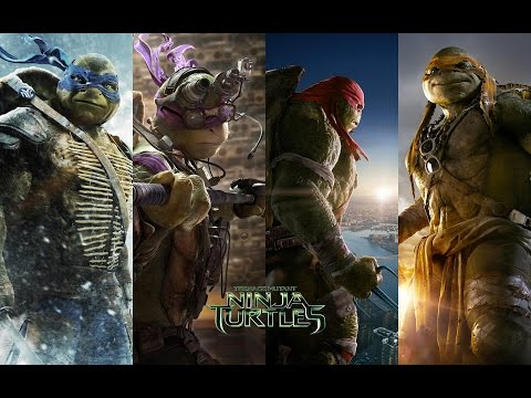 "TMNT 2014: Music Video - ""Shell Shocked"""