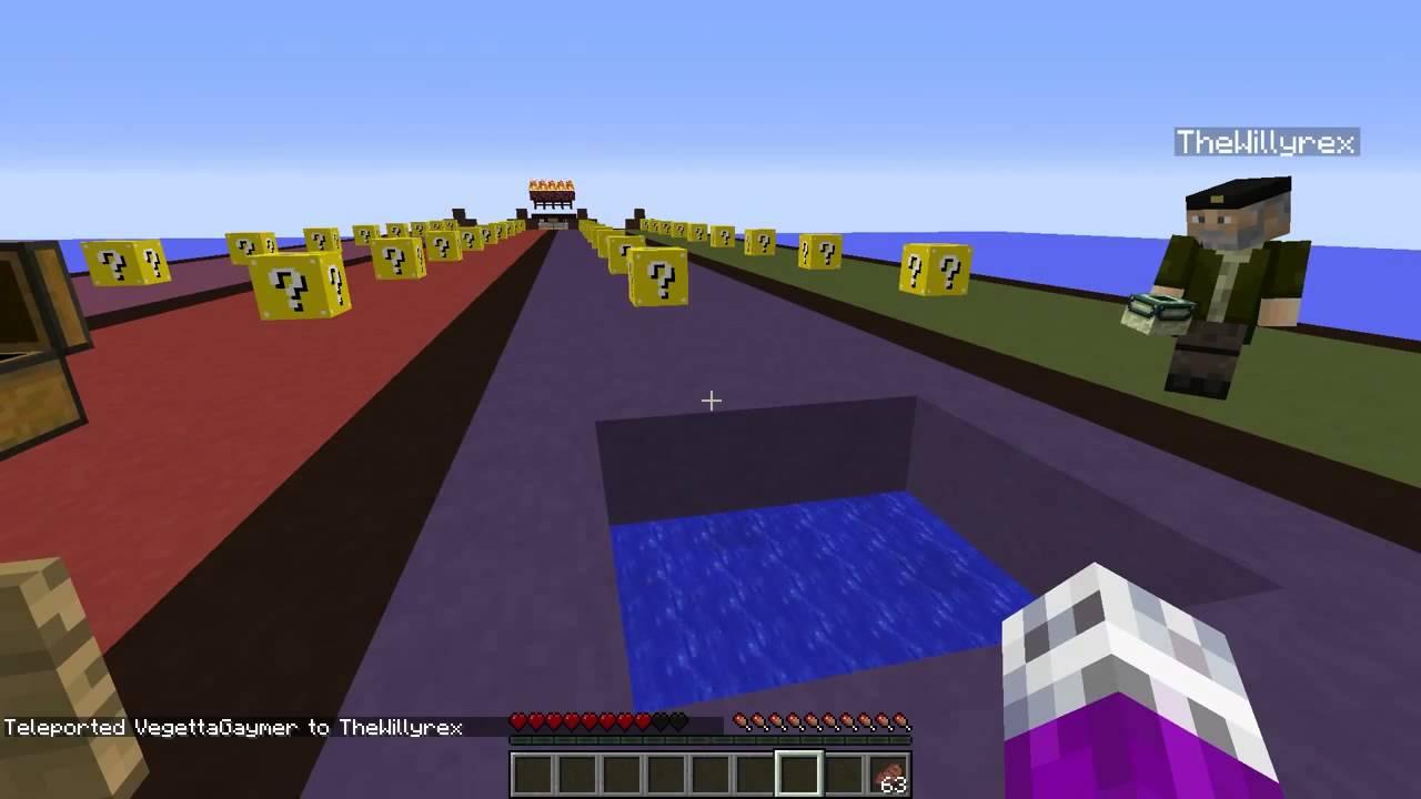 vegeta777: lucky blocks - minecraft mortal
