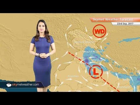 Weather Forecast for Sep 23: Rain in Delhi, Lucknow, Mumbai, Kolkata