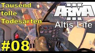 Tausend tolle Todesarten ★ ARMA 3 ALTIS LIFE #8 ★ 30 Minuten Livestream