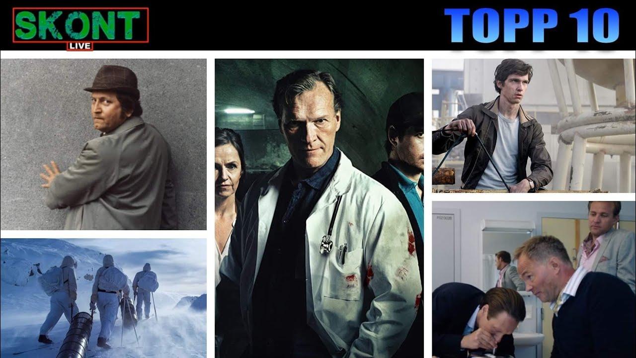 Topp 10 Norske TV-serier - Skont LIVE
