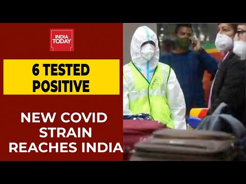 UK's New Covid Strain In India| Six Who Arrived In India Test Positive For UK Mutant Strain
