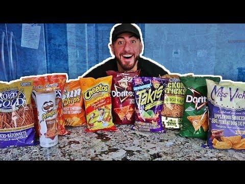 The Ultimate Chip Challenge Taste Test!
