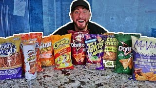 The Ultimate Chip Challenge Taste Test!