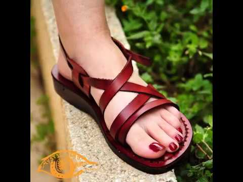 How Leather Sandals are Handmade in the Ancient city of Hebron Palestine