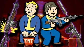 Взрывной дробовик Жми и молись Эксперт-подрывник Коммандос Fallout 4