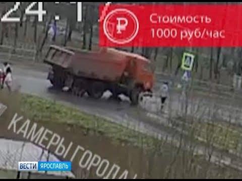 В сети появилось видео серьезной аварии в Рыбинске