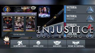 "Injustice Gods Among Us Android Batallas Online ""NINJATO DE NIGHTWING"" 1"