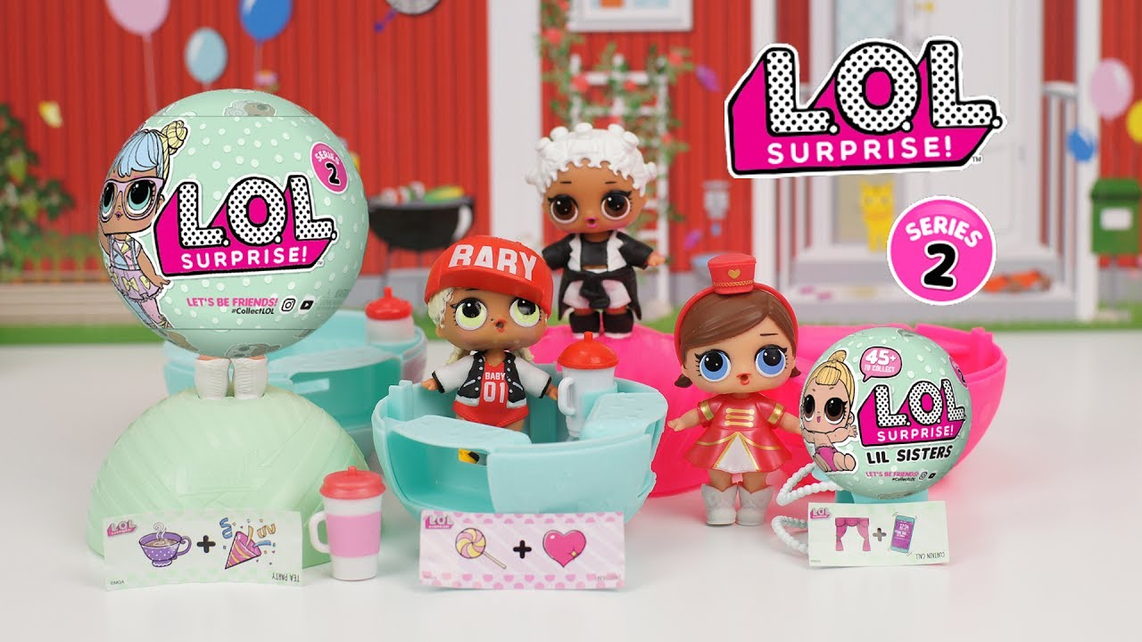 New Lol Surprise Doll Series 2 Little Sisters 7 Layers Of Surprise