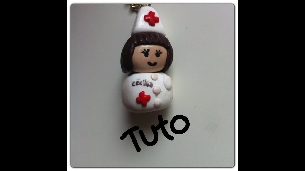 Tuto fimo infirmiere