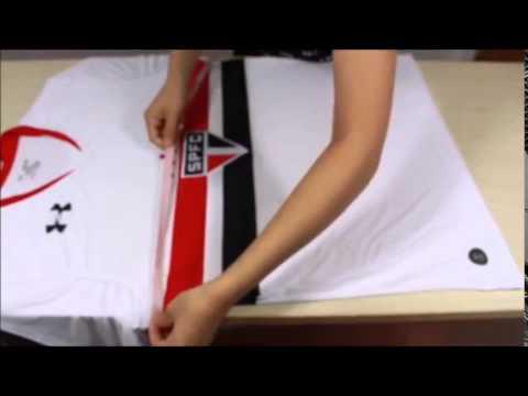 ed7fefdca4 Umboxing Camisa São Paulo Under Armour 15 16 - YouTube