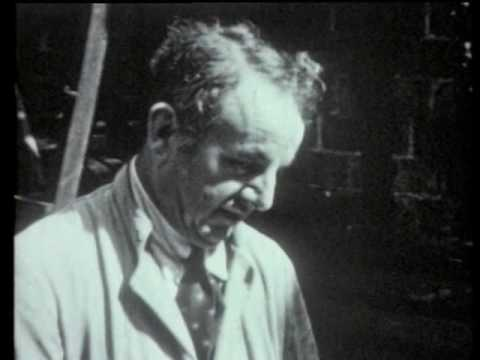 1938 Film of Clay Pipe Making at Broseley Clay Tobacco Pipeworks - Broseley England