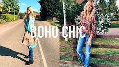 BOHO CHIC OUTFITS | How to dress Bohemain Style