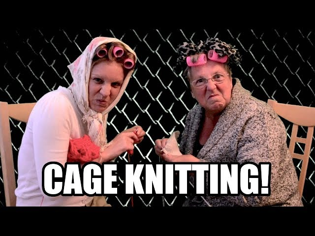 Cage Knitting!