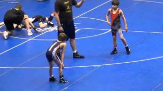 Cameron Savaria wrestling