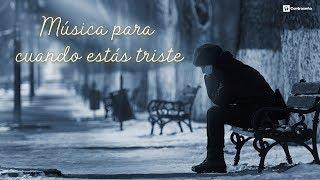 Musica triste de amor para llorar