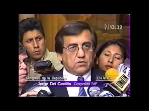 En vivo, congresista Jorge del Castillo