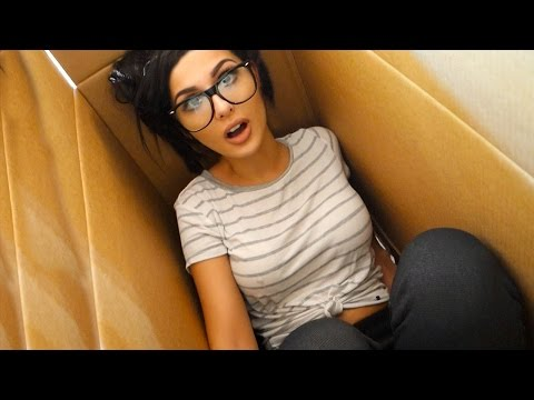 I Mailed Myself In A BOX & IT WORKED | HUMAN MAIL CHALLENGE