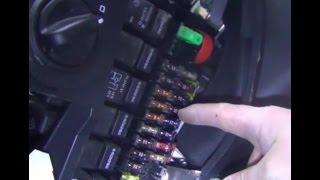 Замена предохранителя дневных ходовых огней (ДХО) на ВАЗ - Lada Granta