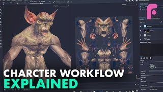 Full 3D Character Workflow Explained - Sculpting, Retopo &Textures