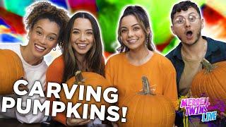 Carving Pumpkins Challenge 2019 - Merrell Twins Live