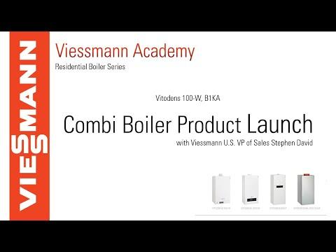 Vitodens 100-W, B1KA Launch