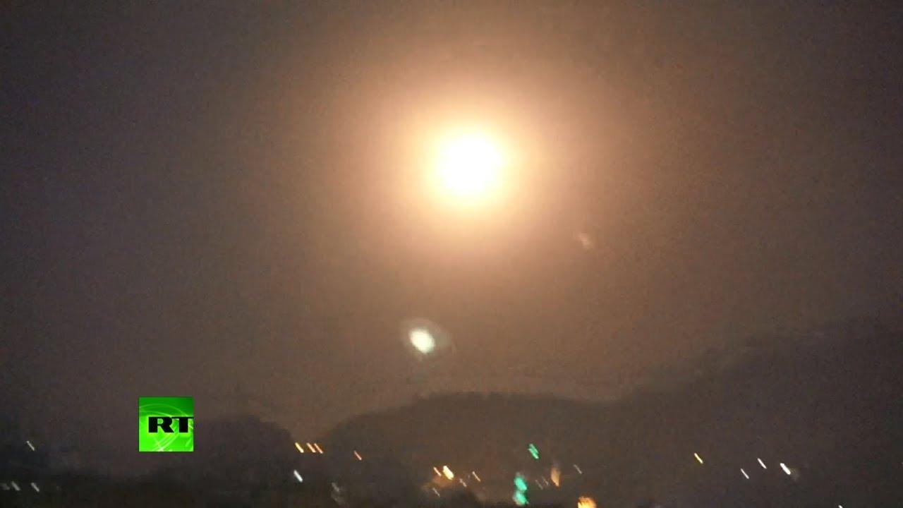 Израиль нанёс авиаудары по территории Сирии