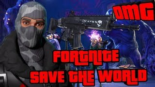 *NEW* FORTNITE SAVE THE WORLD NOOB GAMEPLAY + LIVE TRADING + WEAPON GIVEAWAY? (Fortnite PVE)
