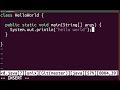Java Basics - Hello World
