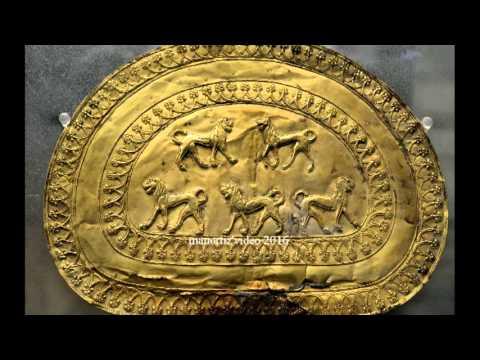 Etruscan Gold Regolini Galassi Tomb Golden disc fibula 7th century BC Vatican Museums (manortiz)