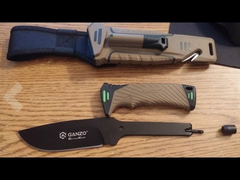Ganzo Knives G801-DY 'Survival Knife' - First Impressions