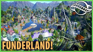Funderland Amusement Park! Park Spotlight 217: Planet Coaster