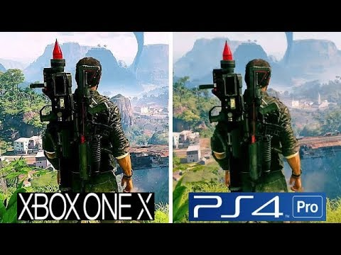 Just Cause 4 | Xbox One X VS PS4 Pro | Graphics Comparison ...