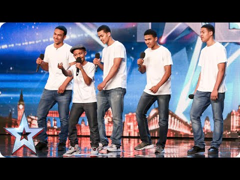 Will the Judges give The Sakyi Five something to celebrate? | Britain's Got Talent 2015