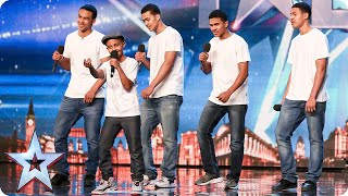 Will the Judges give The Sakyi Five something to celebrate? | Britain\'s Got Talent 2015