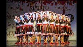 """Народные танцы мира, """"Молдавская сюита"""", школа танцев МАРТЭ 2018"""