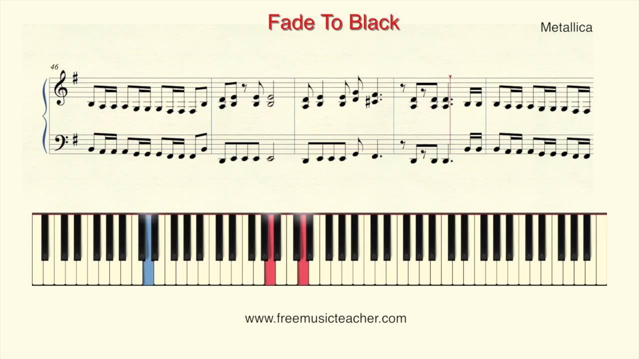 How To Play Piano: Metallica