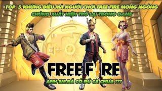 Gambar cover Garena Free Fire | Top 5 những thứ người chơi game mong muốn xuất hiện trở lại Free Fire nhất