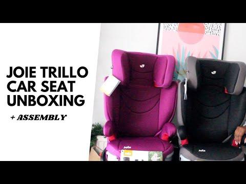 JOIE TRILLO GROUP 2/3 CAR SEAT UNBOXING | JOIE CAR SEAT UNBOXING AND REVIEW | WHICH CAR SEAT UK