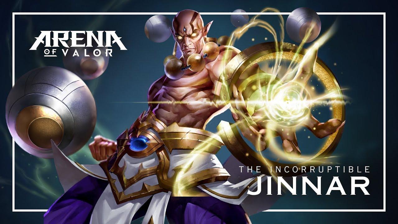 Arena of Valor Jinnar Guide [Hero Review]