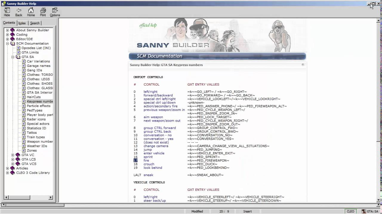 GTA San Andreas CLEO Scripting with Sanny Builder