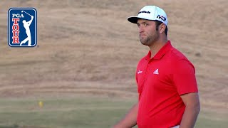 Best shots from all 4 playoff holes at the CareerBuilder Challenge